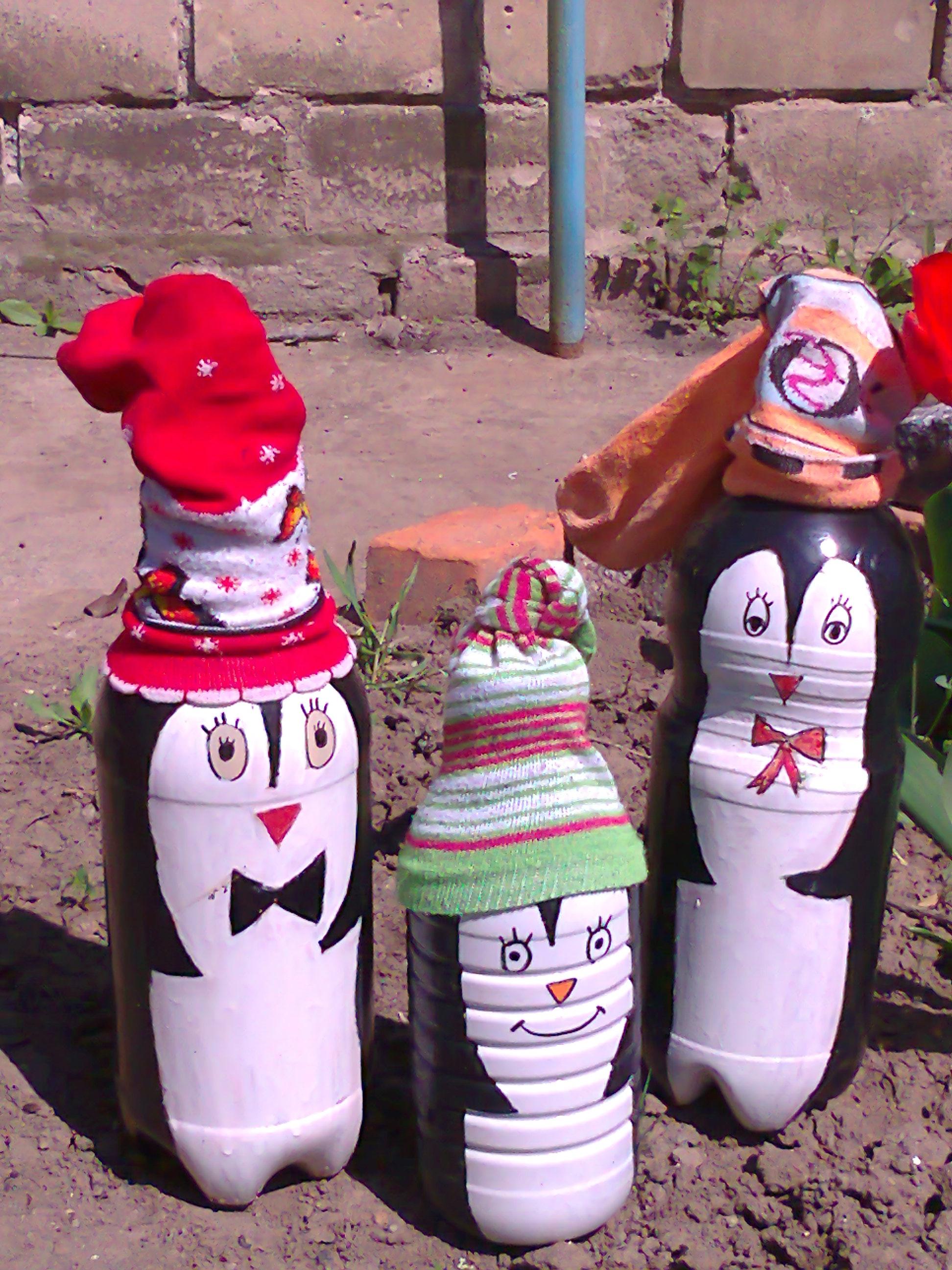 Поделки из пластиковых бутылок: мастер-класс для детского сада 12