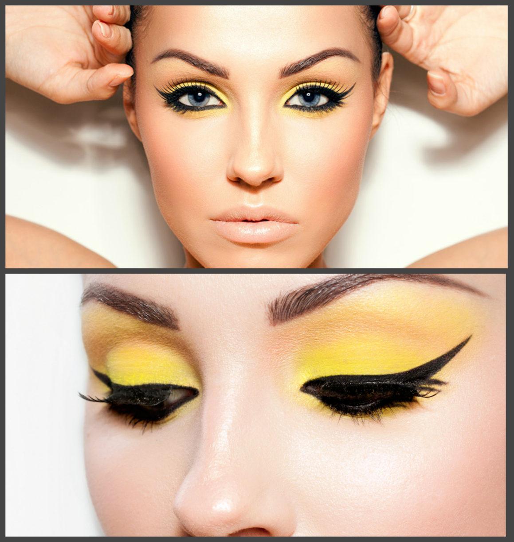 Красивый макияж со стрелками пошагово фото