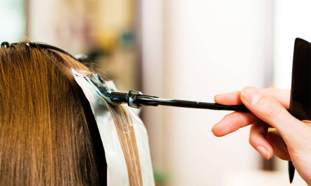 Красим волосы в домашних условиях эстель 107