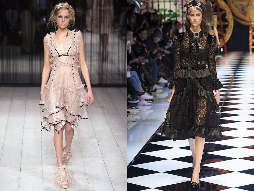 Модное платье из шитья