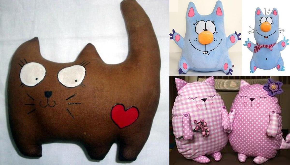 Шитые игрушки из ткани своими руками фото 48
