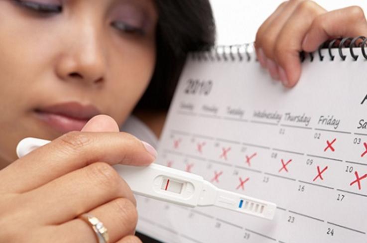 Тест на беременность показал одну полоску а месячных нет