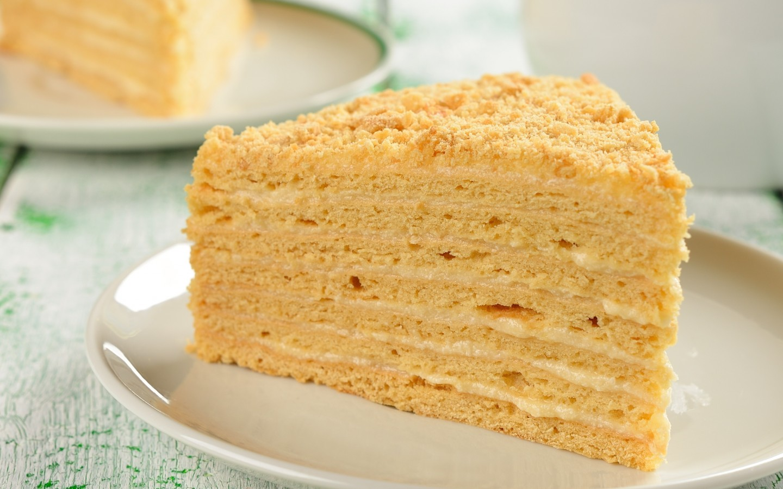 Как сделать коржи для торта в домашних условиях легкий рецепт без меда