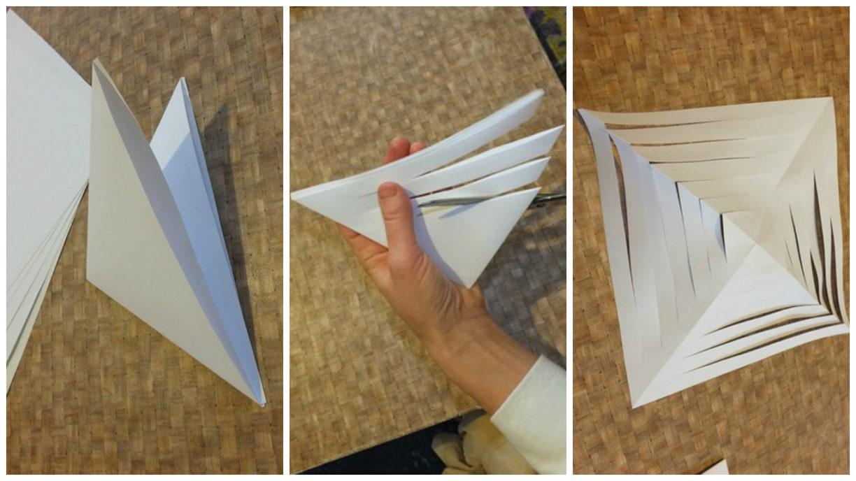 Как сделать бумажный большой 129