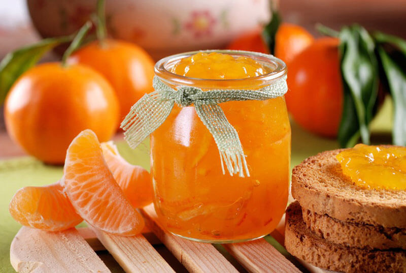 Рецепт варенье с мандаринами