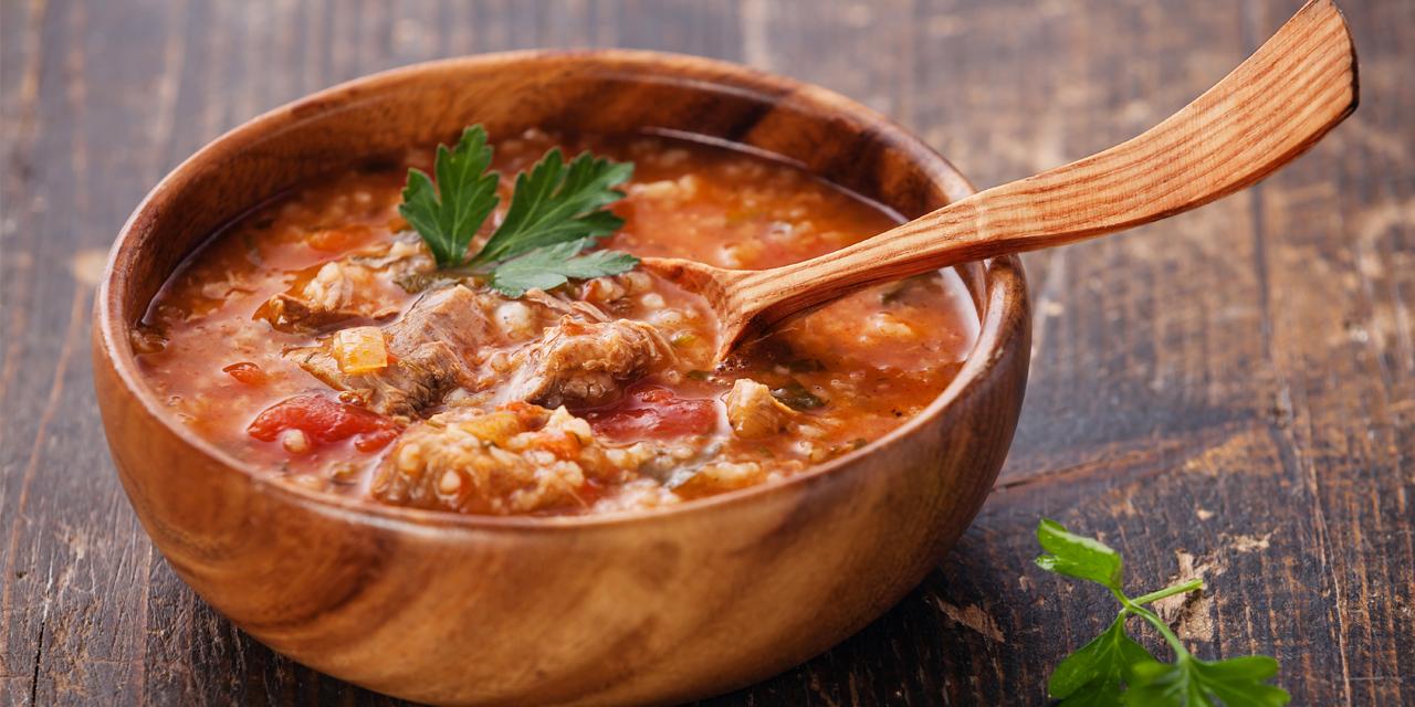 как готовить суп харчо из говядины с картошкой рецепт с фото пошагово