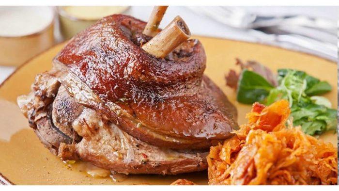 рулька свиная в пиве запеченная в духовке