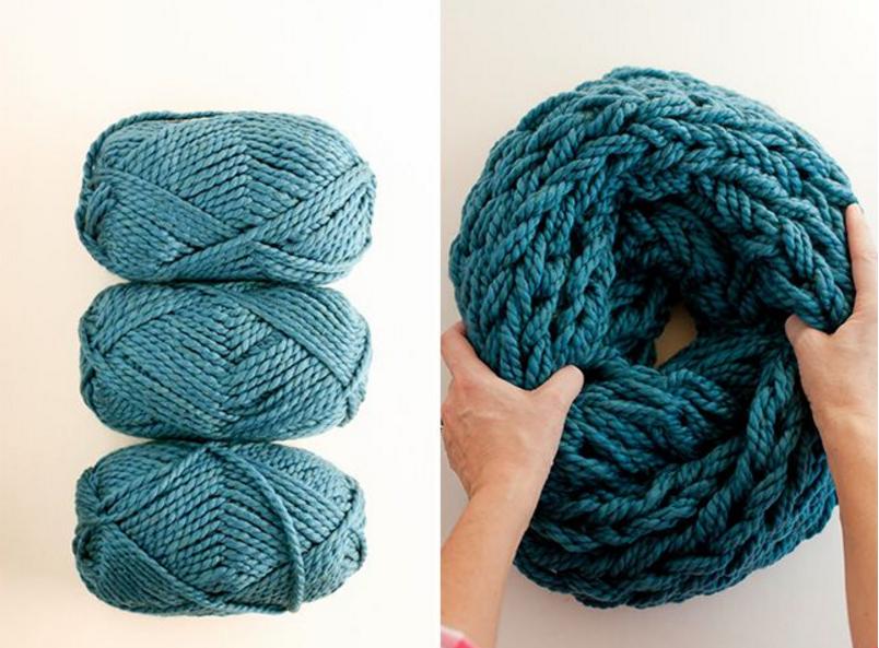 Какая пряжа лучше для вязания шарфа