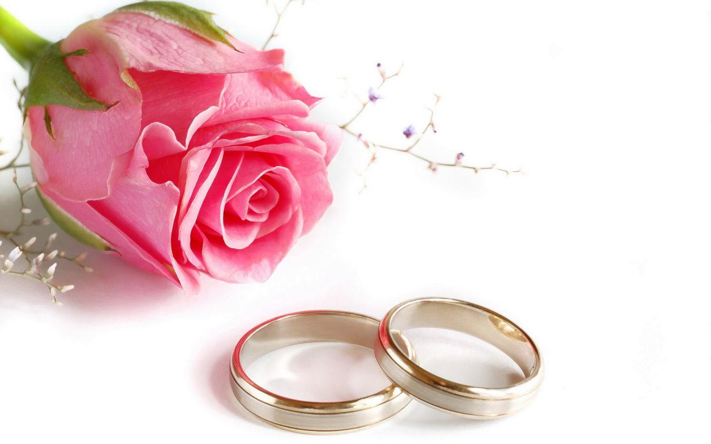 Поздравления со свадьбой с кольцами