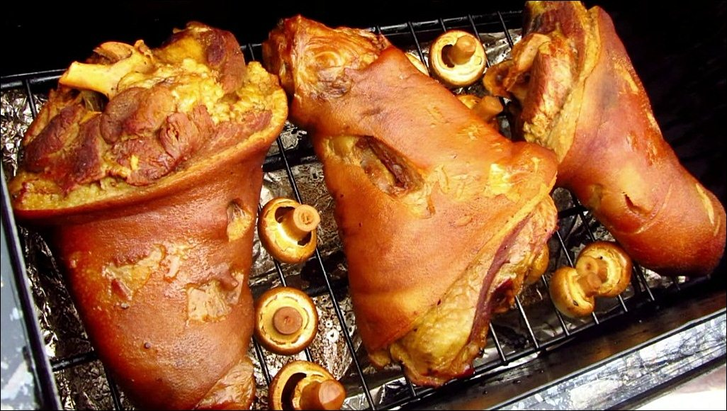 пошаговый рецепт свиной рульки по баварски фото