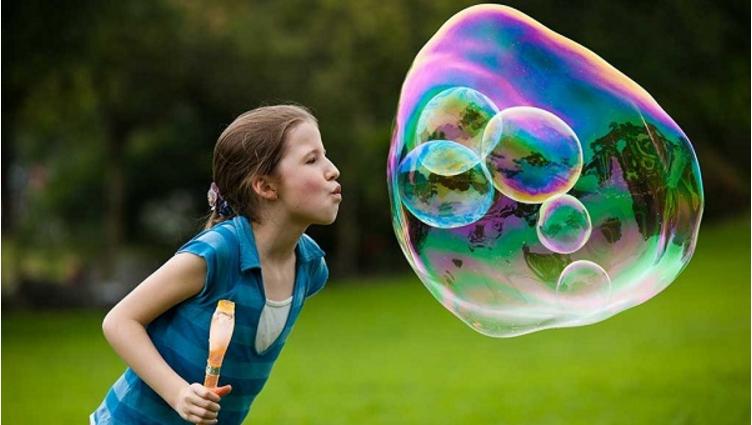 Как сделать много пузырьков
