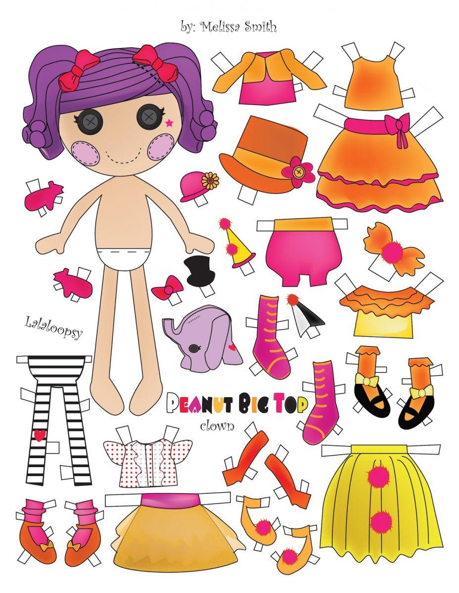 Как сделать куклу из бумаги большую