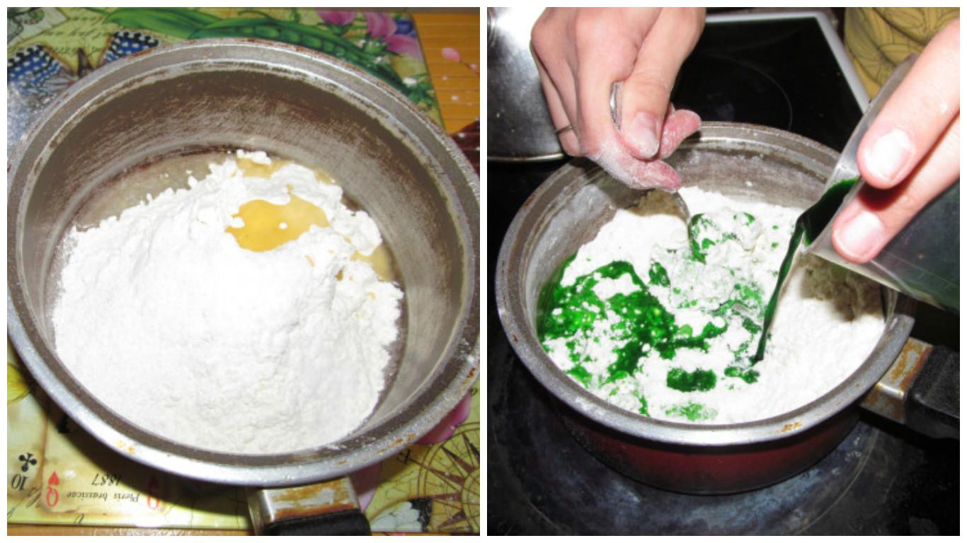 Как из муки и соли сделать пластилин рецепт 14