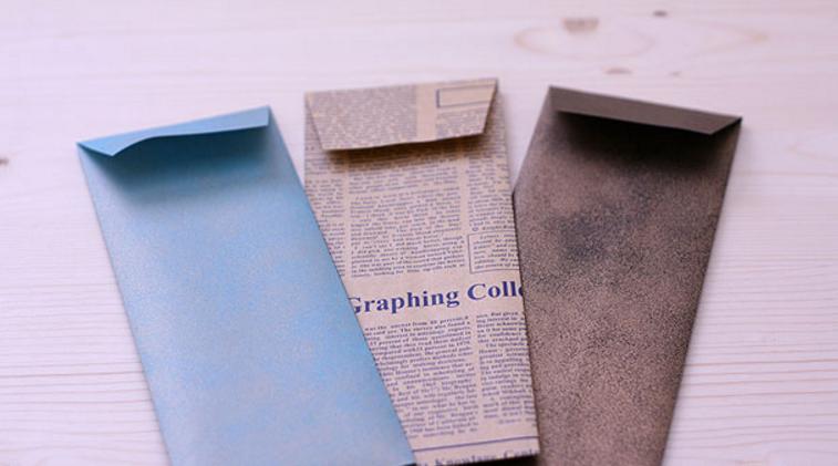 Бумажные конверты своими руками для бумажных денег 60