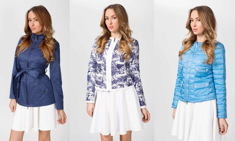 Стильные женские куртки весна