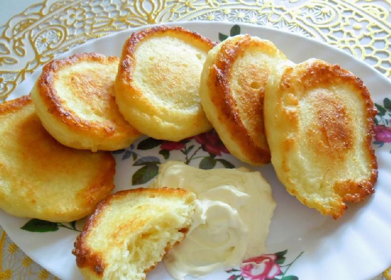 Оладьи с творогом рецепт с фото пошагово в духовке