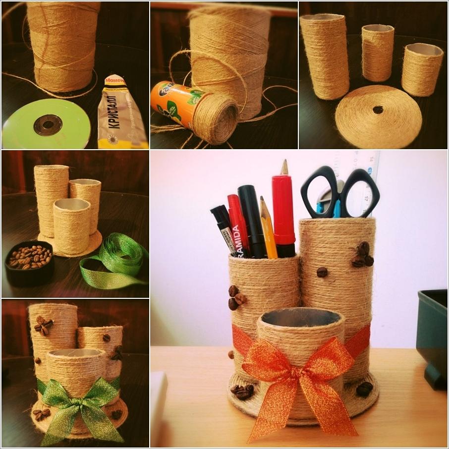 Изделия из подручных материалов своими руками