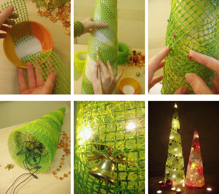 Как сделать елочные украшения своими руками