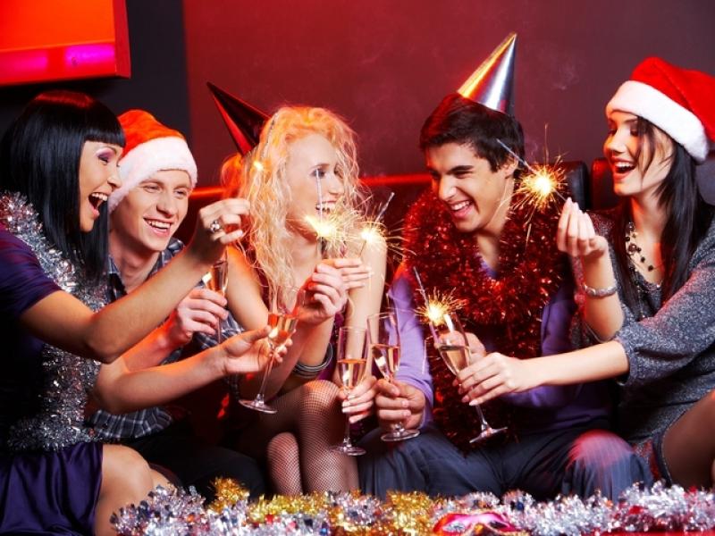 Веселые игры новый год детей