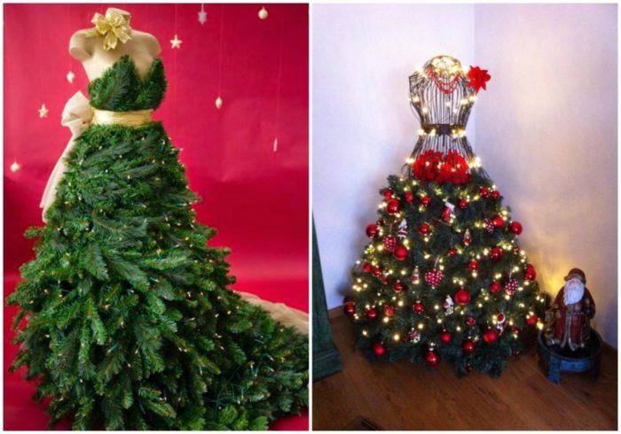 Самые креативные идеи для украшения елки к 2018 году