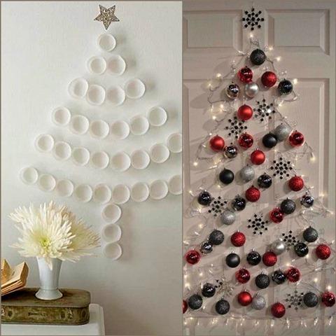 Варианты идей украшения елки в 2018с году с фото