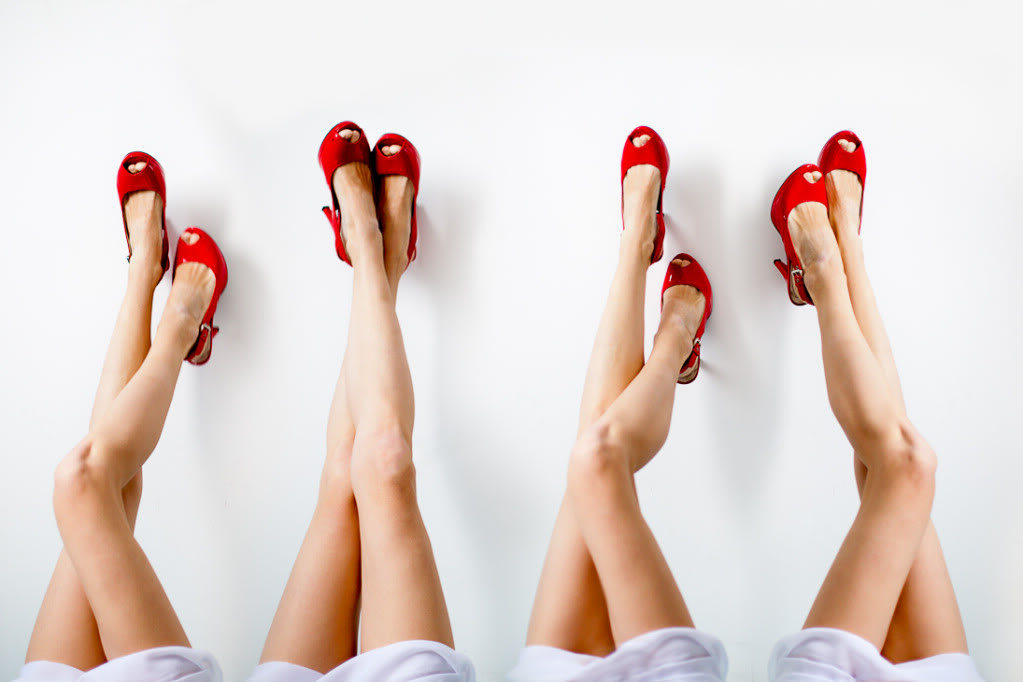 Как сделать красивые ноги на