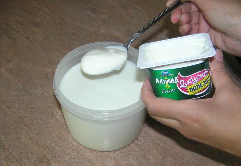 как делать закваску для йогурта рецепт