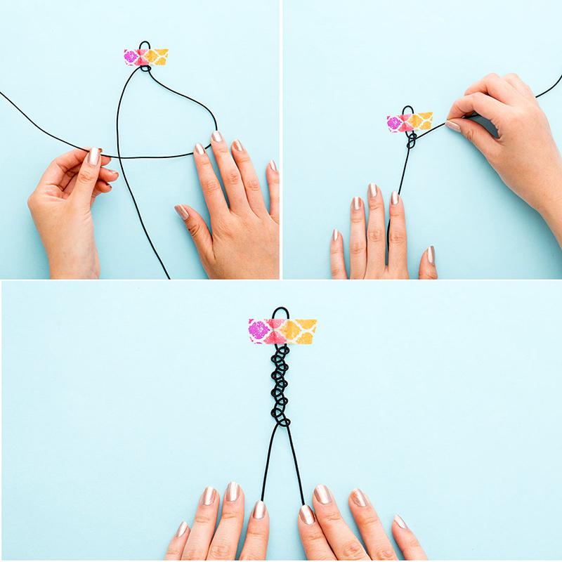 Как сделать украшения на шею своими руками в домашних условиях 2