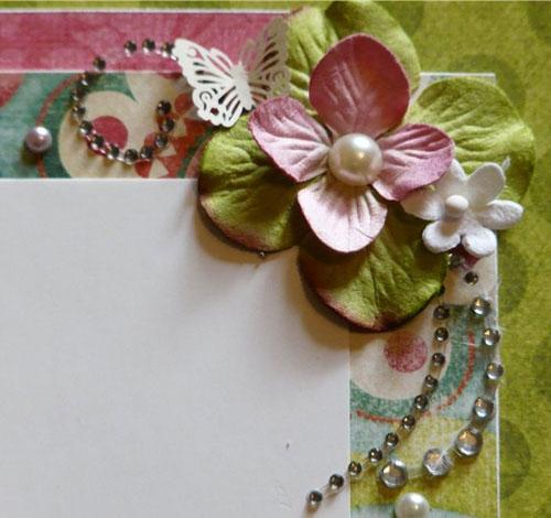 Как сделать бумагу для цветов скрапбукинг 571