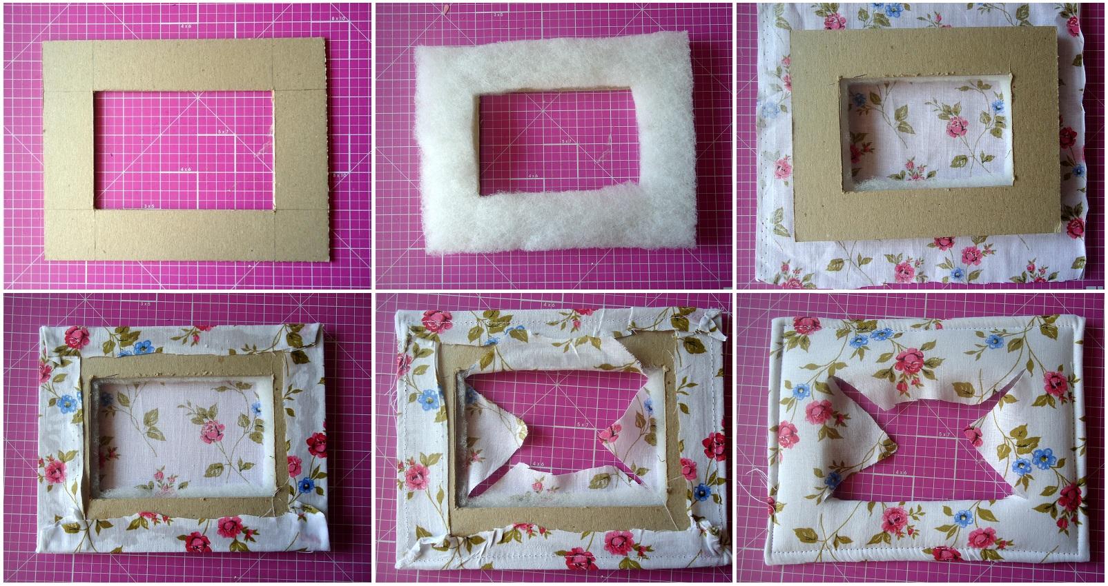 Сделать рамки для фото своими руками из картона