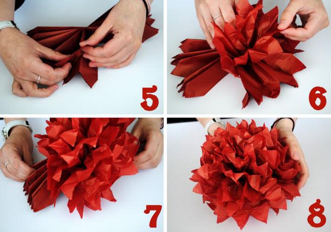 Как сама сделать цветок