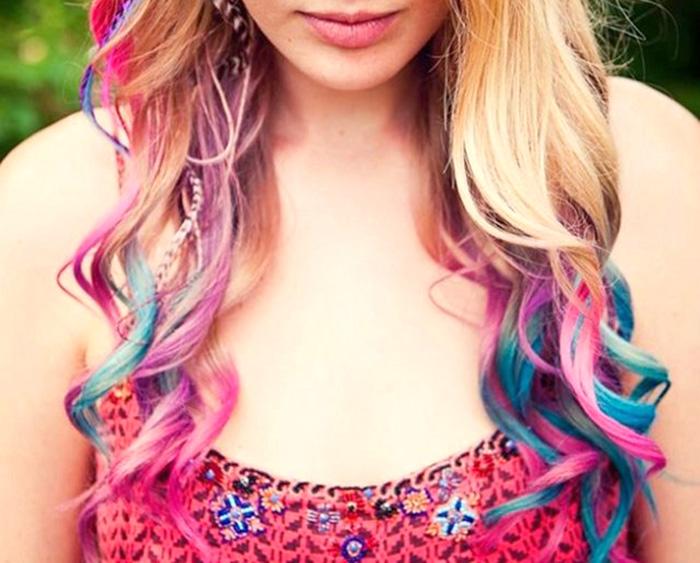 чем можно покрасить волосы на время