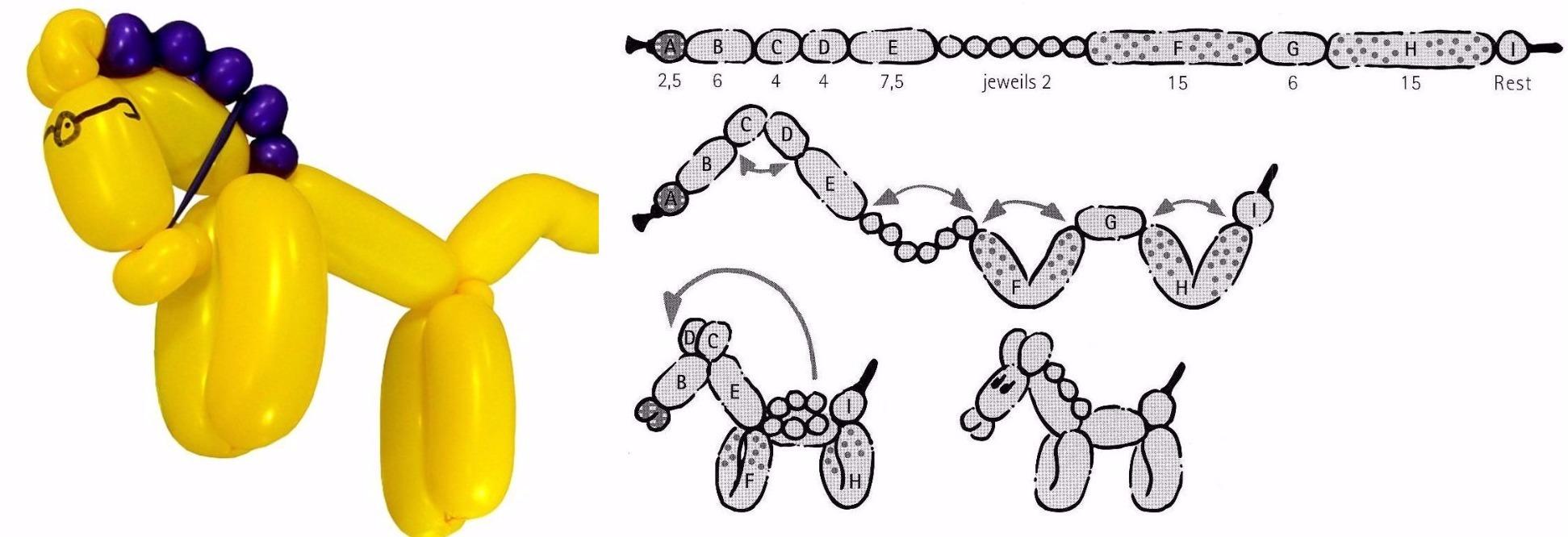 Схема игрушки из шариков
