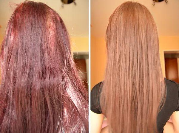 Как осветлит черные волосы в домашних условиях 584