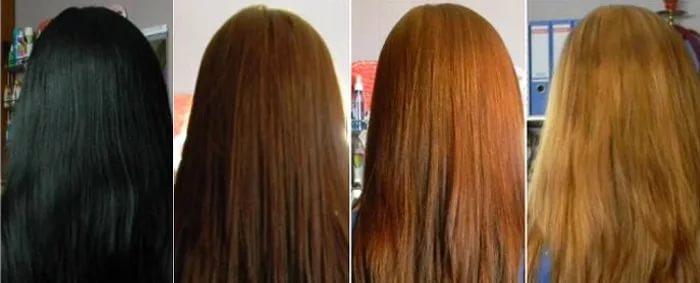 Как смыть безаммиачную краску с волос