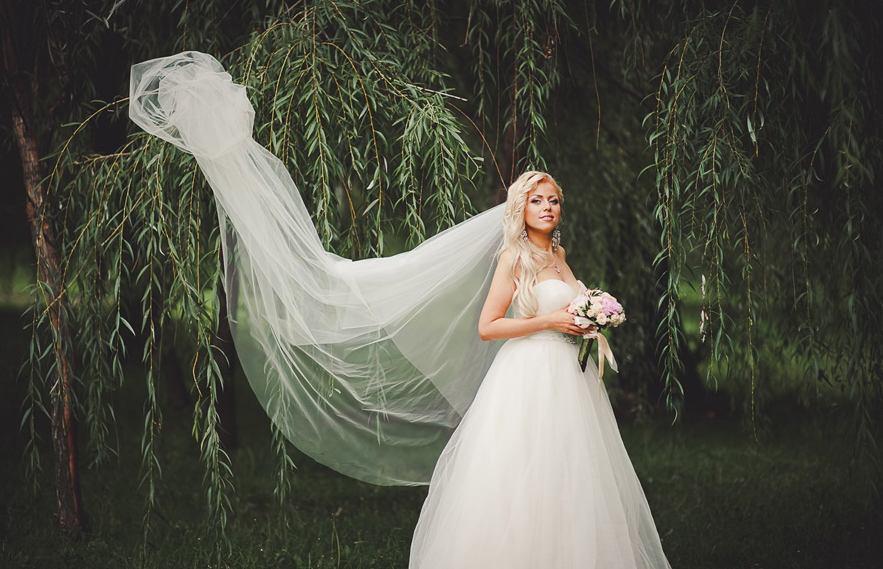 Фата на свадьбу приметы