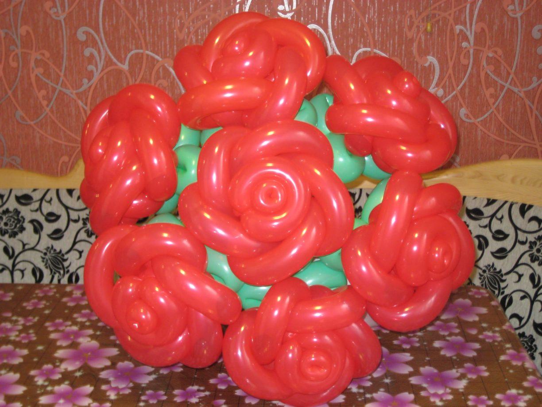 Как сделать не сложные цветы из шариков