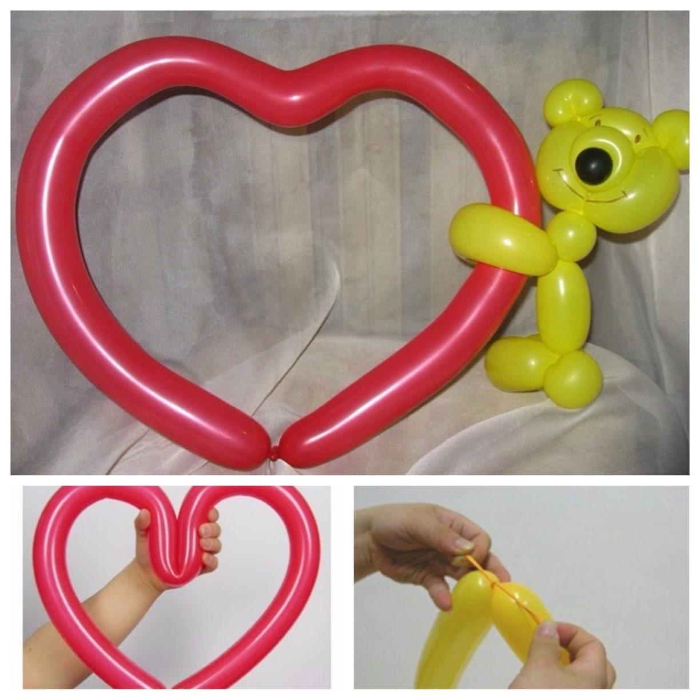 Как сделать фигуры из шаров своими руками. Пошаговые 65