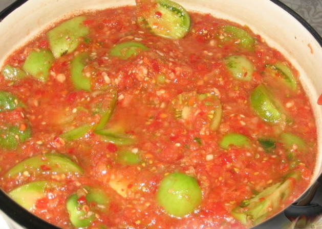 green adjika tomatoes - Google Search - Google Chrome
