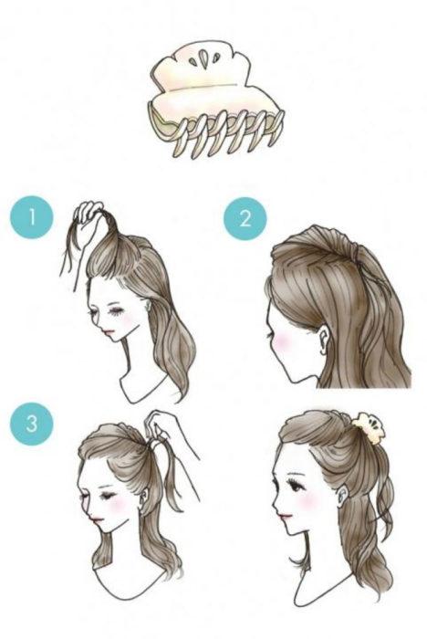 Как сделать причёску из чёлки 398