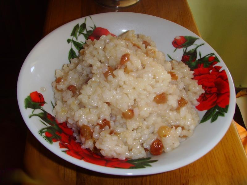 Рецепт кутьи на поминки с изюмом