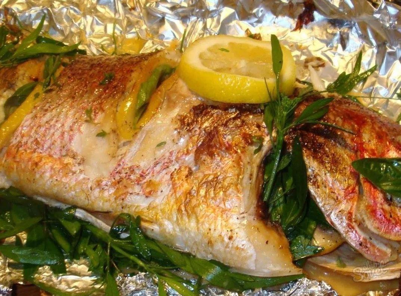 Горбуша запеченная в духовке - красная рыба (рецепт) 88