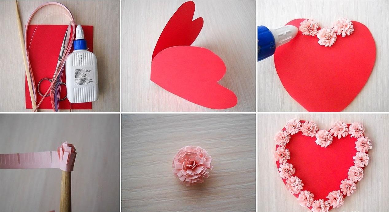 Красивее валентинки своими руками