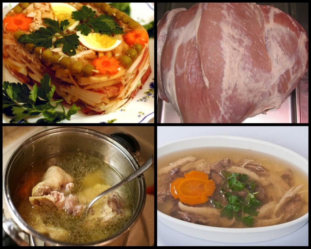 Холодец рецепт из говядины с желатином рецепт