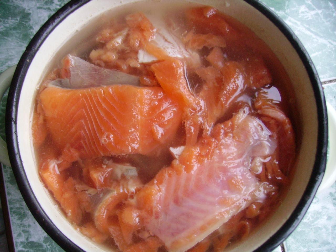 Горбуша слабосолёная в домашних условиях рецепт