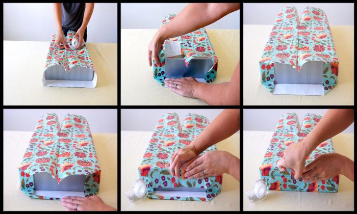 Как запаковать подарок в подарочную 402