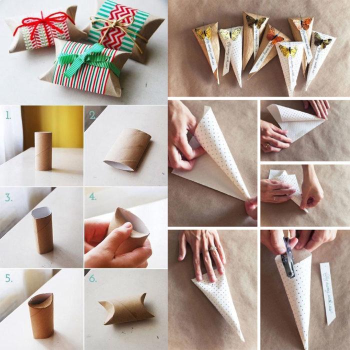 Как упаковать в подарочную упаковку подарок 881