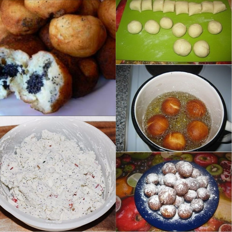 Рецепт творожных шариков пошаговое фото