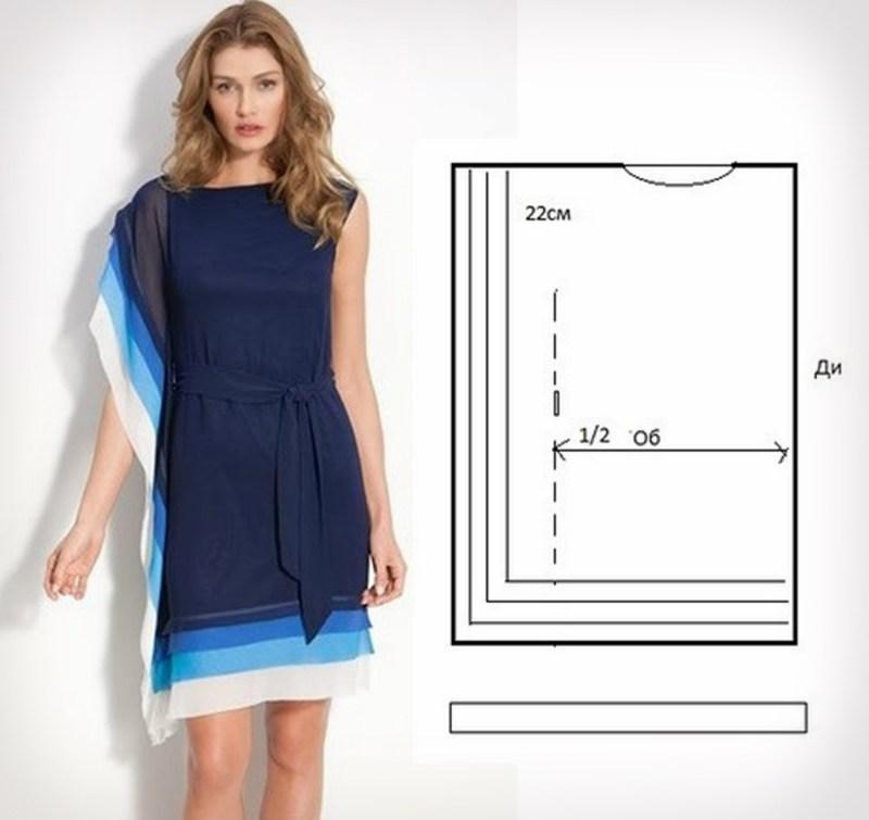 Платье туник своими руками 757