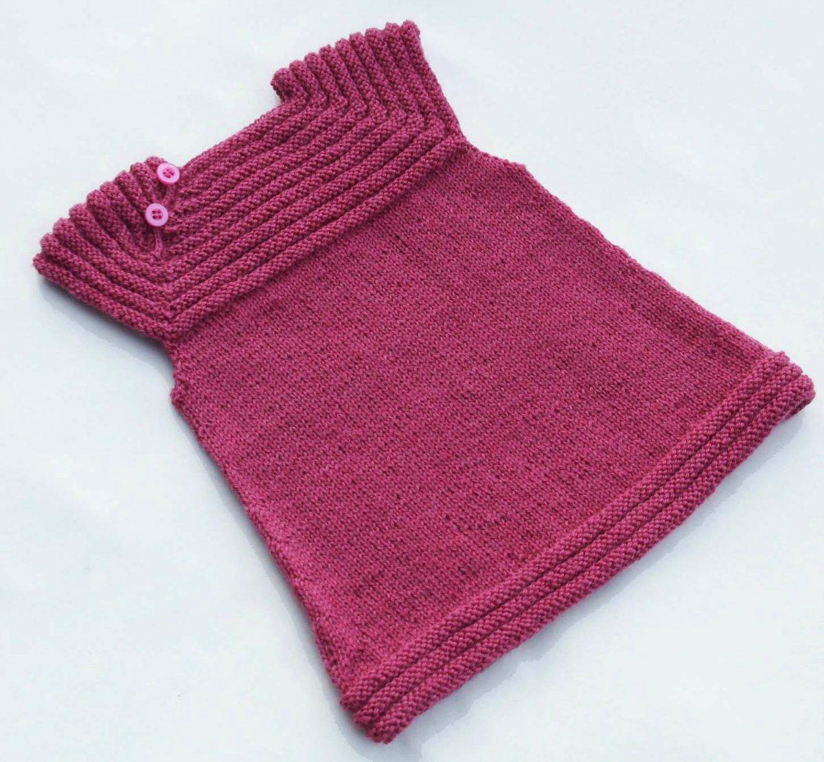 вязание красивых детских и женских платьев спицами пошагово со